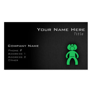 Kelly Green Cowboy Business Cards