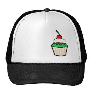 Kelly Green Cupcake Trucker Hats