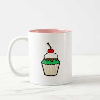 Kelly Green Cupcake Coffee Mug