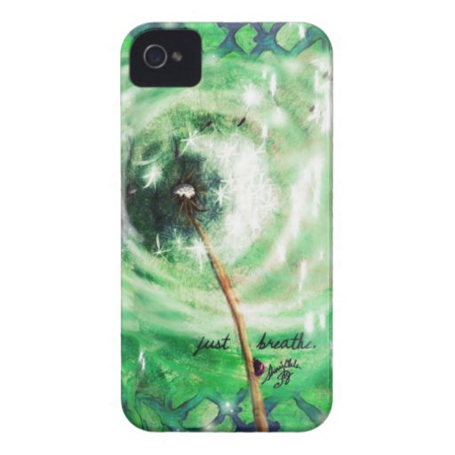 Kelly Green Dandelion Wish 'MIA' IPhone Case iPhone 4 Cover