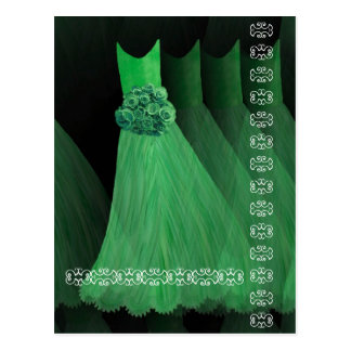 KELLY GREEN Dresses Roses and Lace Postcard