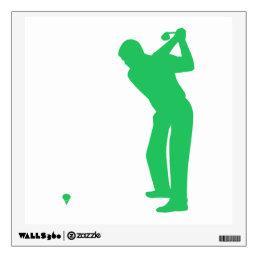 Kelly Green Golf Wall Decal
