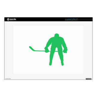 Kelly Green Ice Hockey Skin For Laptop