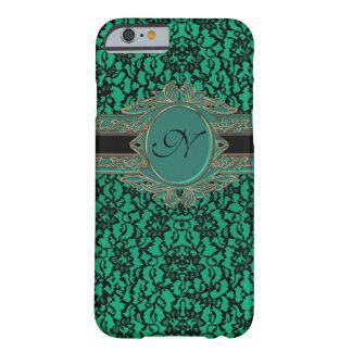 Kelly Green Irish Lace Custom Monogram iPhone 6 Case
