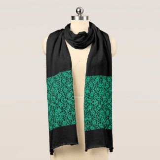 Kelly Green Irish Lace Scarf
