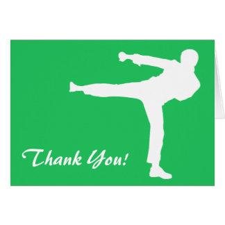 Kelly Green Martial Arts Card
