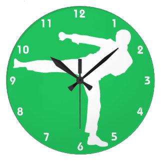 Kelly Green Martial Arts Clocks