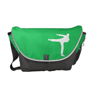 Kelly Green Martial Arts Messenger Bag