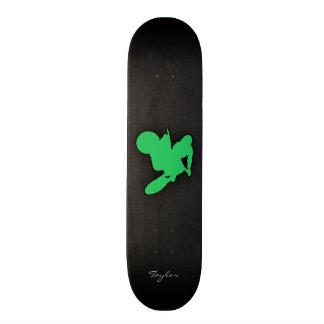 Kelly Green Motocross Skateboard Deck