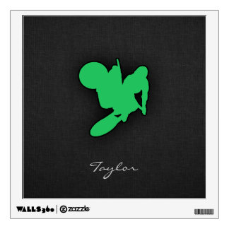 Kelly Green Motocross Wall Decal