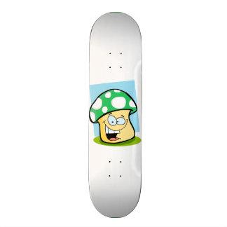 Kelly Green Mushroom Skateboards