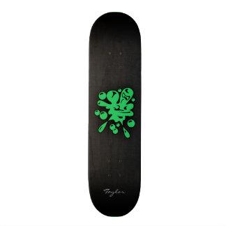 Kelly Green Paintball Skateboard Deck