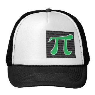 Kelly Green Pi Trucker Hat