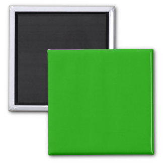 KELLY GREEN (solid color) ~ 2 Inch Square Magnet