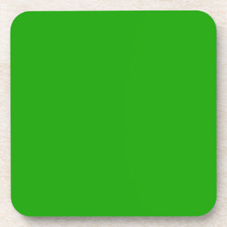 KELLY GREEN (solid color) ~ Drink Coaster