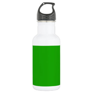 KELLY GREEN (solid color) ~ Stainless Steel Water Bottle