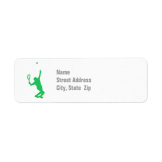 Kelly Green Tennis Label