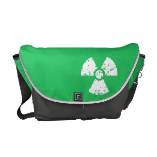 Kelly Green Toxic Waste Messenger Bag