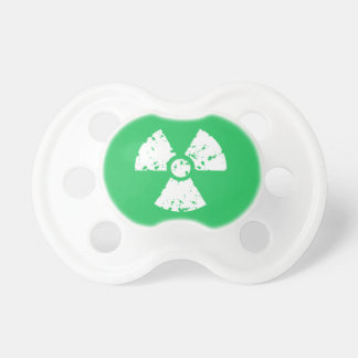 Kelly Green Toxic Waste Baby Pacifiers