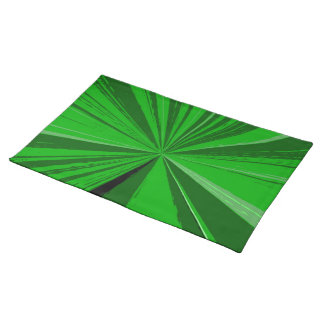 Kelly Green Vanishing Point Placemat