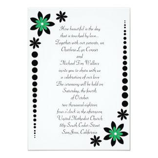 Kelly Green Wedding Invitations