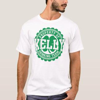 Kelly Irish Drinking Team Bottle Cap T  Shirt