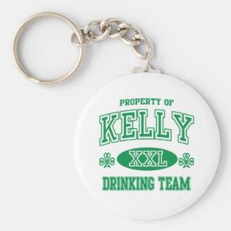 Kelly Irish Drinking Team Keychain