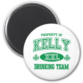 Kelly Irish Drinking Team Magnet