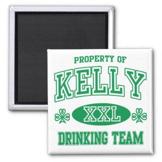 Kelly Irish Drinking Team Fridge Magnet