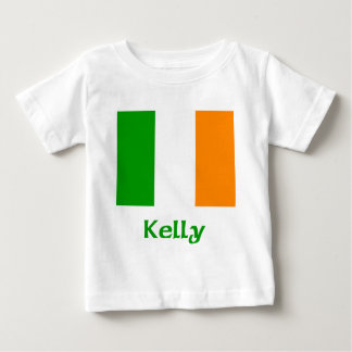 Kelly Irish Flag Baby T-Shirt