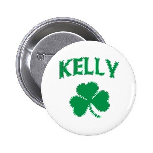 Kelly Irish Pinback Button