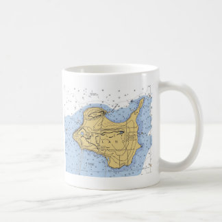 Kelly Island, OH Nautical Chart Coffee Mug