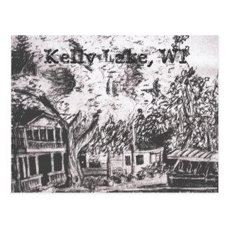 Kelly Lake Cabin Postcard