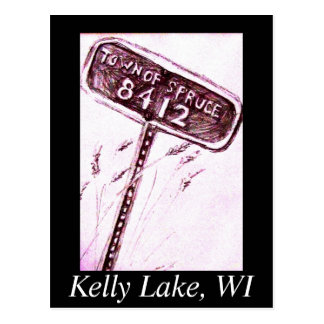 Kelly Lake - Town of Spruce Post Card