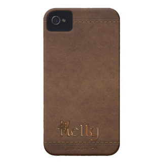 KELLY Leather-look Customised Phone Case