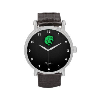 Kelly Leo verde Relojes De Pulsera