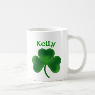 Kelly Shamrock Coffee Mug