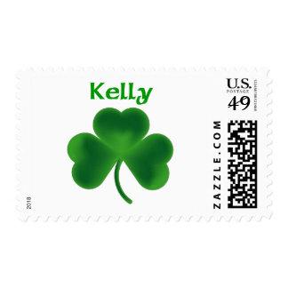 Kelly Shamrock Stamp