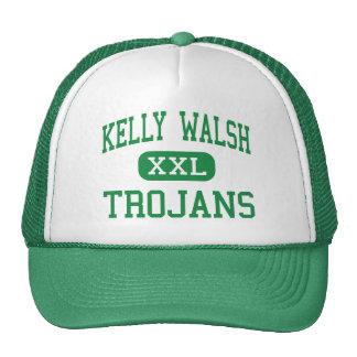 Kelly Walsh - Trojans - High - Casper Wyoming Trucker Hat