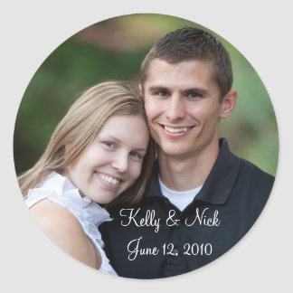 Kelly y Nick #2 Pegatina Redonda