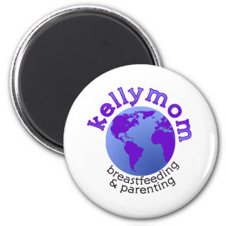 KellyMom 2 Inch Round Magnet