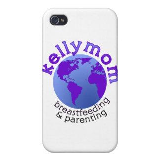 KellyMom iPhone 4 Carcasas