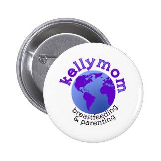 KellyMom Pin Redondo 5 Cm
