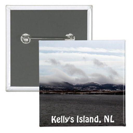 Kelly's Island, NL Button