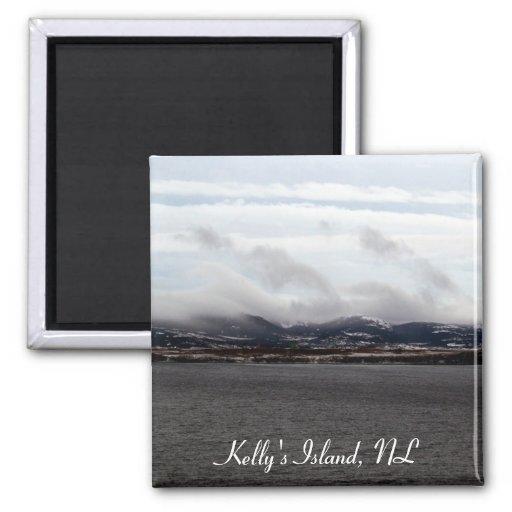 Kelly's Island, NL Magnet