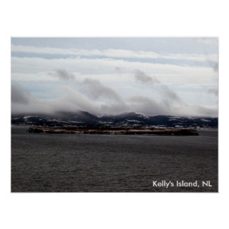 Kelly's Island, NL Poster