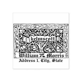 Kelmscott by Willaim Morris in 1891 Rubber Stamp