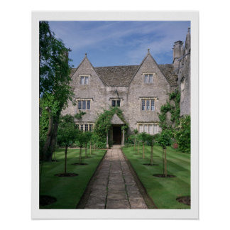 Kelmscott Manor (photo) Poster