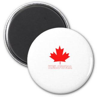 Kelowna, British Columbia 2 Inch Round Magnet