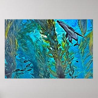 Kelp Forrest Poster